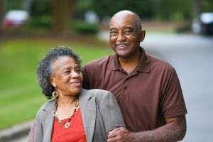 Baby Boomer Married Couple