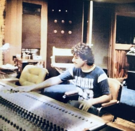 David Goldstein Recording Engineer - No need for hearing aids for a 23 year old