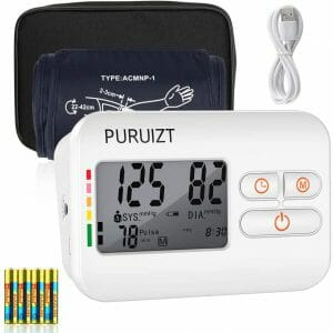 Blood Pressure Monitor Upper Arm, Puruizt Accurate Automatic Digital Blood Pressure Machine