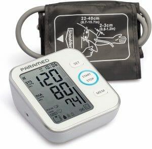 Paramed Upper Arm Bp Machine & blood pressure monitor