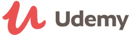 logo for udemy online courses for baby boomers