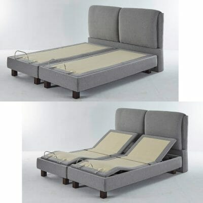adjustable beds in both flat and elevated positions for sleep apnea relief