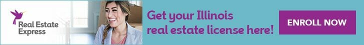 Get Illinois real estate license online