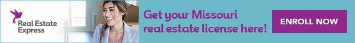 get a missouri real estate license online
