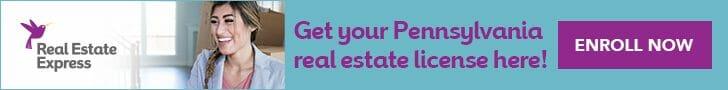 get Pennsylvania real estate license online