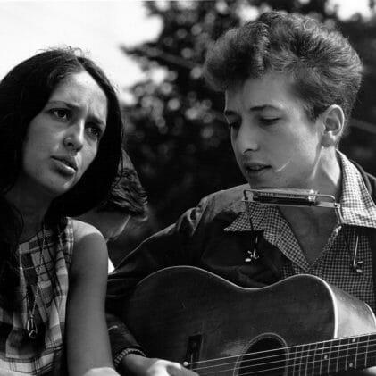 Bob Dylan and Joan Baez - 1960s Boomer Culture