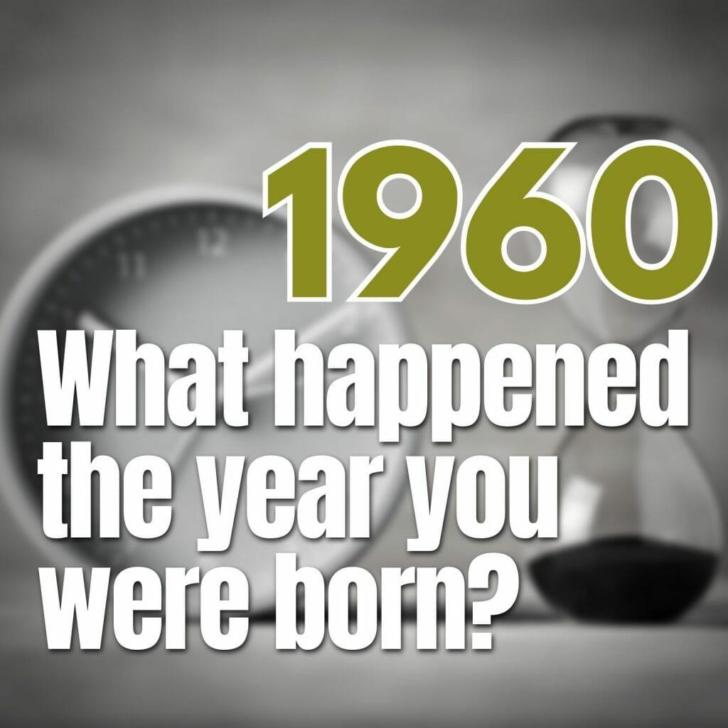 born in 1960